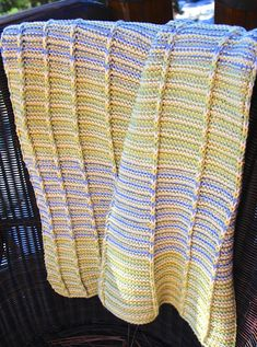 Ravelry: Smart-Baby Blanket pattern by Laura Cunitz Easy Baby Blanket, Lap Blanket, Baby Blankets, Knitted Afghans, Garter Stitch, Wood Carving, Leg Warmers, Baby Knitting, Ravelry