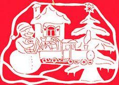 Die 154 Besten Bilder Von Scherenschnitt Weihnachtenwinter Diy