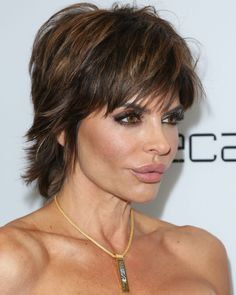 A spiky, sassy shag can be dressed up for easy elegance or mussed for a more punky-cool look.   - Redbook.com