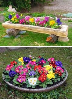 30 Amazing DIY ideas for decorating your garden uniquely | My desired home