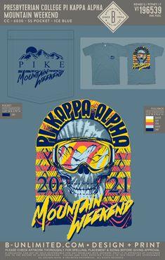 Pi Kappa Alpha Mountain Weekend Shirt   Fraternity Event   Greek Event #pikappaalpha #pike