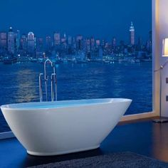 Today's freestanding roll top baths are a modern take on bathing. Instead of being fitted against a wall then tiled in place, the Infinity Bond Roll Top Bath si.