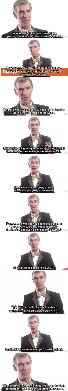 Bill Nye uses science to defend women's reproductive rights