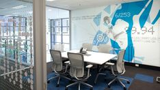 ASICS Offices - A way to connect employees with their customers.