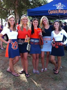Dresses made from football t-shirts. LOVE this! But definitely with UGA and not Auburn!