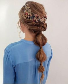 91 best wedding hairstyles for short and long hair 2018 - Hairstyles Trends Best Wedding Hairstyles, Pretty Hairstyles, Braided Hairstyles, Hairstyle Trends, Hair Trends, Ponytail Styles, Hair Dos, Her Hair, Hair Inspiration