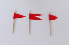 paper frag, frag with tooth picks
