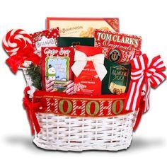 Santa's Holiday Basket from Holiday Gifts and Gift Baskets $60