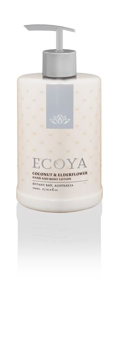 ECOYA Hand & Body Lotion - Coconut & Elderflower  http://www.ecoya.com/