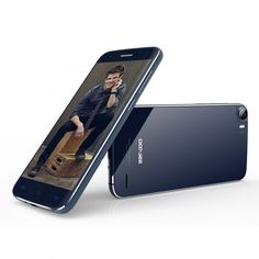 DOOGEE F3 Pro smartphone use 5 inch screen, 3GB RAM + 16GB ROM with MTK6753 Octa Core processor, has 5MP front + 13MP rear dual camera, installed Android 5.1 OS.