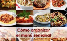 Cómo organizar las comidas para la semanahttp://www.organizartemagazine.com/como-organizar-las-comidas-para-la-semana/