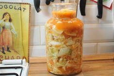 Ha meguntad a sima káposztát, így készíts fűszeres koreai kimcsit - Só&Bors Paleo, Korea, Stuffed Peppers, Canning, Vegetables, Food, Eat, Drink, Beverage