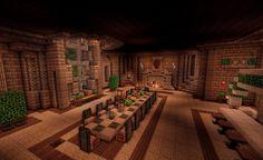 Medieval Minecraft Dining Room