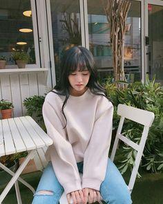 park jihoon for Sera{otw revisi} Ulzzang Fashion, Ulzzang Girl, Korean Fashion, Korean Girl, Asian Girl, Korean Style, Tumblr Outfits, Aesthetic Girl, Cute Girls
