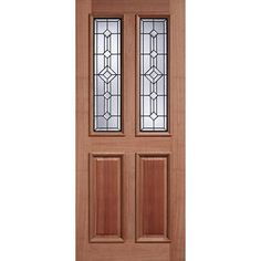 Make your house more attractive with our Derby Leaded Hardwood External Doors using traditional mortise and tenon joints for maximum strength, glazed panels and much more. External Hardwood Doors, External Doors, Interior Doors For Sale, Doors Online, Classic Doors, Wooden Front Doors, Modern Door, Steel Doors, Mortise And Tenon