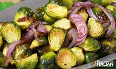 The Best Ever Garlic Roasted Brussels Sprouts. This is the only recipe you will ever need. I have never liked Brussels sprouts. Until now.