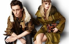 Burberry Spring/Summer 2012 Main Campaign
