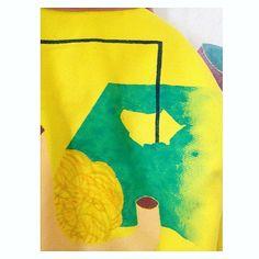 screen printed. Chicle jacket Irene Infantes Wooly jacket. Irene, Screen Printing, Printed, Jacket, Instagram Posts, Infants, Silk Screen Printing, Screenprinting, Suit Jacket