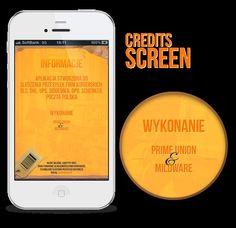 Paczkometr app by Lukasz Sokol via Behance