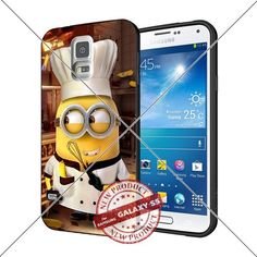 New Samsung Galaxy S5 Case Minions Chef Cool Cell Phone Case Shock-Absorbing TPU Cases Durable Bumper Cover Frame Black Lucky_case26 http://www.amazon.com/dp/B018KOQGGO/ref=cm_sw_r_pi_dp_sMuAwb1NVKD1A