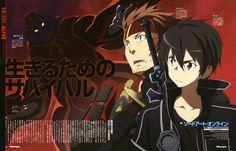 Klein & Kirito, Sword Art Online