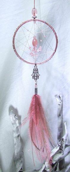 29-traumfänger-diy-pink-hellpinke-glasperlen-silberner-schmuck