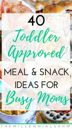 Toddler meals 476677941809632618 - As a busy mom, mealtime can be stressful – especially if you have toddlers. Thankfully it doesn't have to be! Here are over 40 toddler meal ideas for busy moms that toddlers will love! Source by Toddler Meals, Kids Meals, Toddler Recipes, Toddler Food, Baby Meals, Toddler Stuff, Baby Food Recipes, Healthy Recipes, Healthy Kids