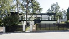 Villa-Snow-White-Finland-designed by Helin&Co Architects.