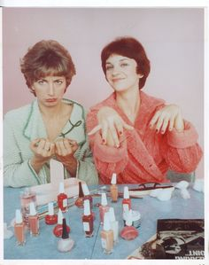Laverne & Shirley...these women are the best example of friends on their show :)