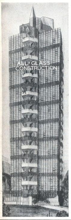 Torres vidriadas de 1930 diseñadas por Frank Lloyd Wright en East Village, Manhattan