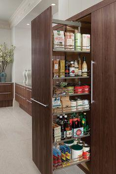 27 Best Kitchen Storage Ideas for Small Spaces Layout Contemporary Kitchen Ideas Kitchen layout small Spaces Storage Kitchen Pantry Storage, Cozy Kitchen, Kitchen Organization, Kitchen And Bath, New Kitchen, Kitchen Interior, Kitchen Decor, Organization Ideas, Storage Cabinets