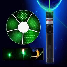 Europes Coolest Sleekest Green Laser pointer ,This lightweight yet sturdy green laser pointer is ideal for use in any presentation or talk. Producing a powerful green dot, it works well when pointing to objects that are both close up and in the distance.