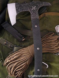 Michael Zieba - Tactical Hussar HawkFort Henry Custom Knives