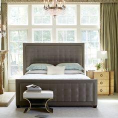Upholstered Panel Bed | Bernhardt