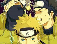 Naruto Akatsuki Funny, Naruto Shippudden, Naruto Boys, Kakashi Sensei, Naruto Comic, Naruto Cute, Chica Anime Manga, Otaku Anime, Fanarts Anime