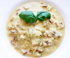 Rezept Leberkäs-Gulasch mit Gemüse von selfmademan - Rezept der Kategorie Hauptgerichte mit Fleisch