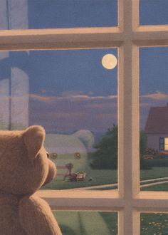 """""""At the window"""" by Quint Buchholz (This looks likes a companion piece to an earlier pin.)"""