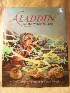 Childrens Classic; Aladdin and The Wonderful Lamp Book, 1989 Carrick