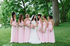 Toledo Ohio Modern Grey & Pink Toledo Country Club wedding  by Mary Wyar Photography http://MaryWyar.com