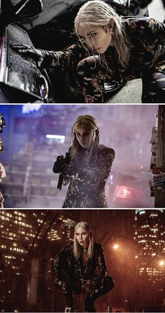 Noomi Rapace as Leilah (elf) on 'BRIGHT' movie 2017
