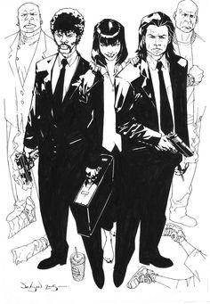 Pulp Fiction by Jason Pearson