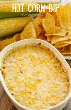 Hot Corn Dip {Football Game Day Ideas}