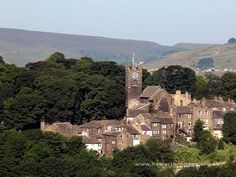 Haworth, home of the Bronte sisters