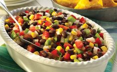 WW Freestyle Zero Point Week: Black Bean Salad