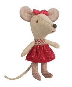 Maileg Little Sister Christmas Mouse, the cutest stocking stuffer EVER!