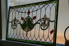 Oh, the stained glass.