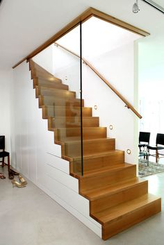 44 Staircase Storage, House Staircase, Stair Storage, Interior Stairs, Room Interior, Interior Design Living Room, Railing Design, Staircase Design, Flooring For Stairs