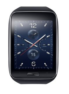 Samsung Debuts Gear S Smartwatch With No Smartphone Needed Apple Smartwatch, Latest Smartwatch, Wearable Device, Wearable Technology, Best Smart Watches, Cool Watches, Amazing Watches, Men's Watches, Sport Watches
