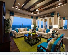 15 Traditional Tropical Living Room Designs