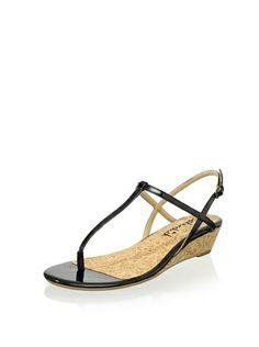 Splendid Women's Edgewood T-Strap Sandal (Black)
